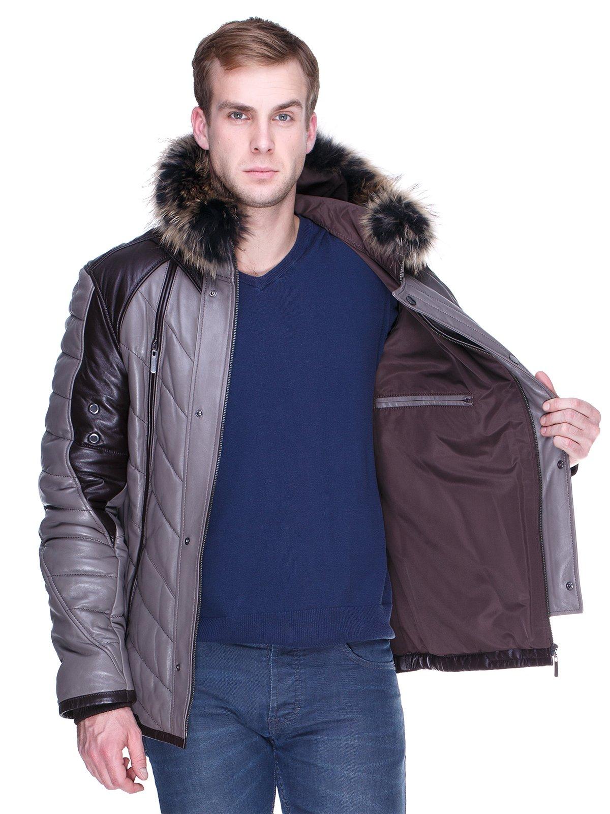Куртка сіро-коричнева | 1966463 | фото 5