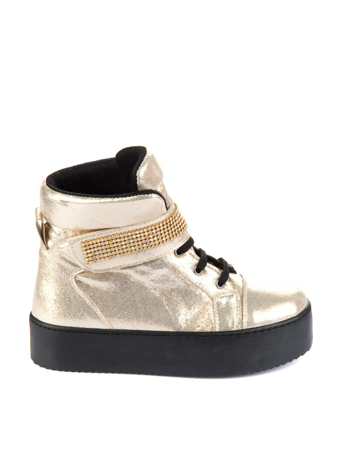 Ботинки золотистые | 1970348