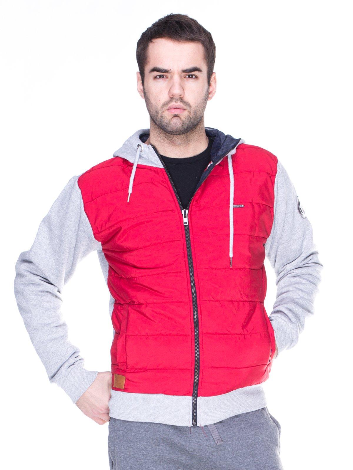 Куртка червоно-сіра   1977976