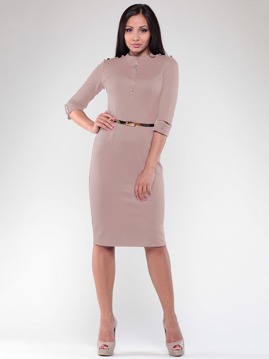 Платье бежевое | 1984552