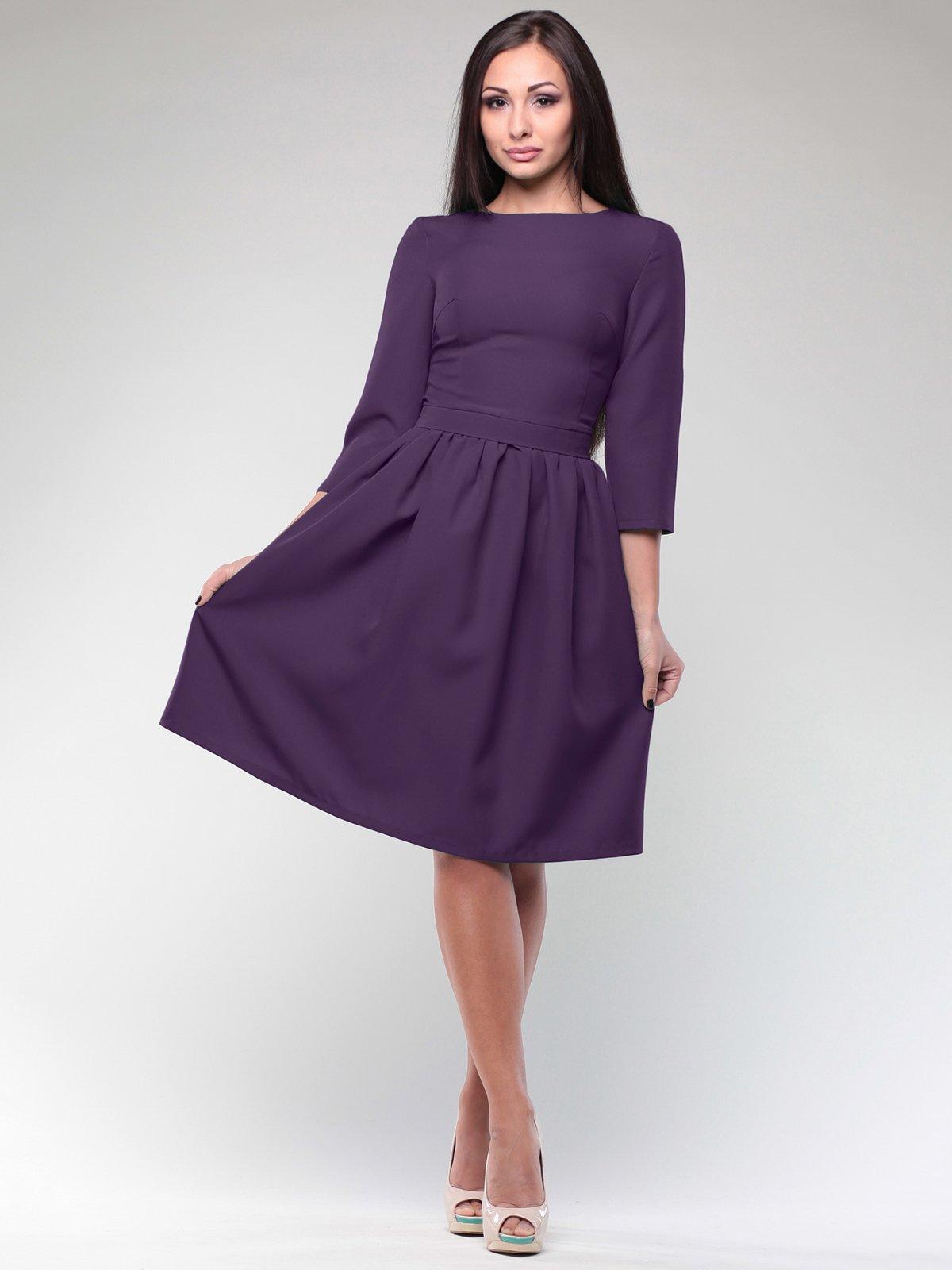 Сукня темно-фіолетова | 1994432