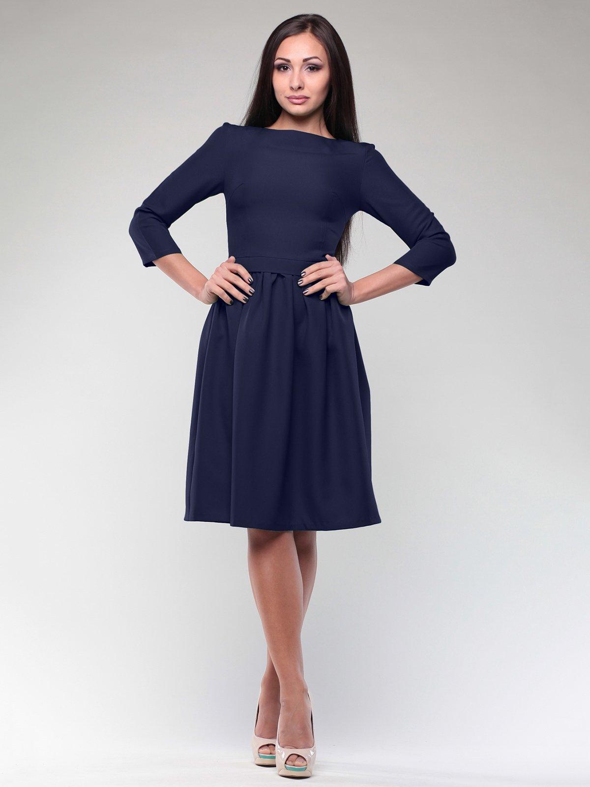 Платье темно-синее   1994444