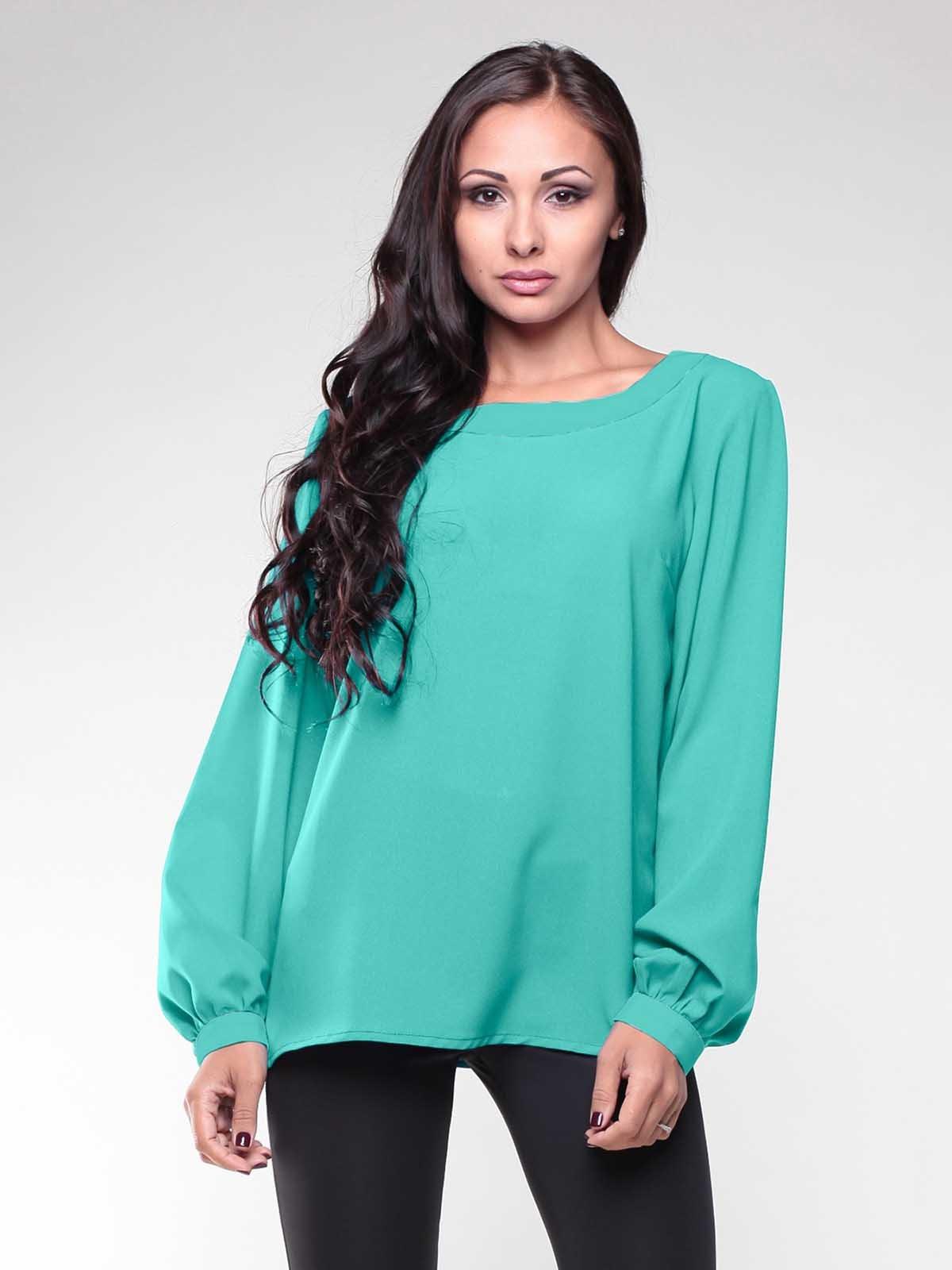Блуза ментолового кольору   1994798