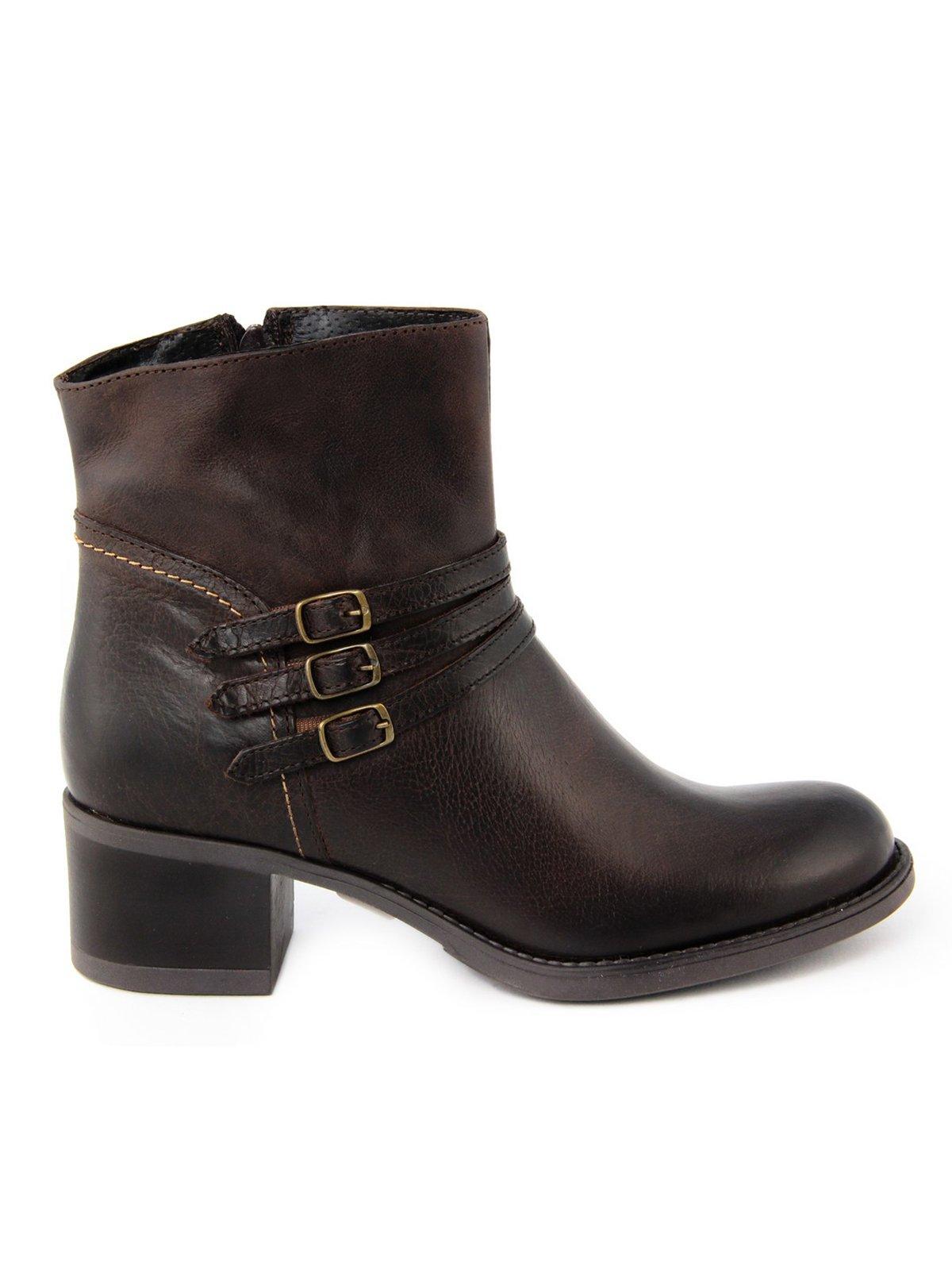 Ботинки коричневые   1998842
