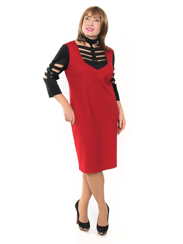 Сукня чорно-червона | 2004341