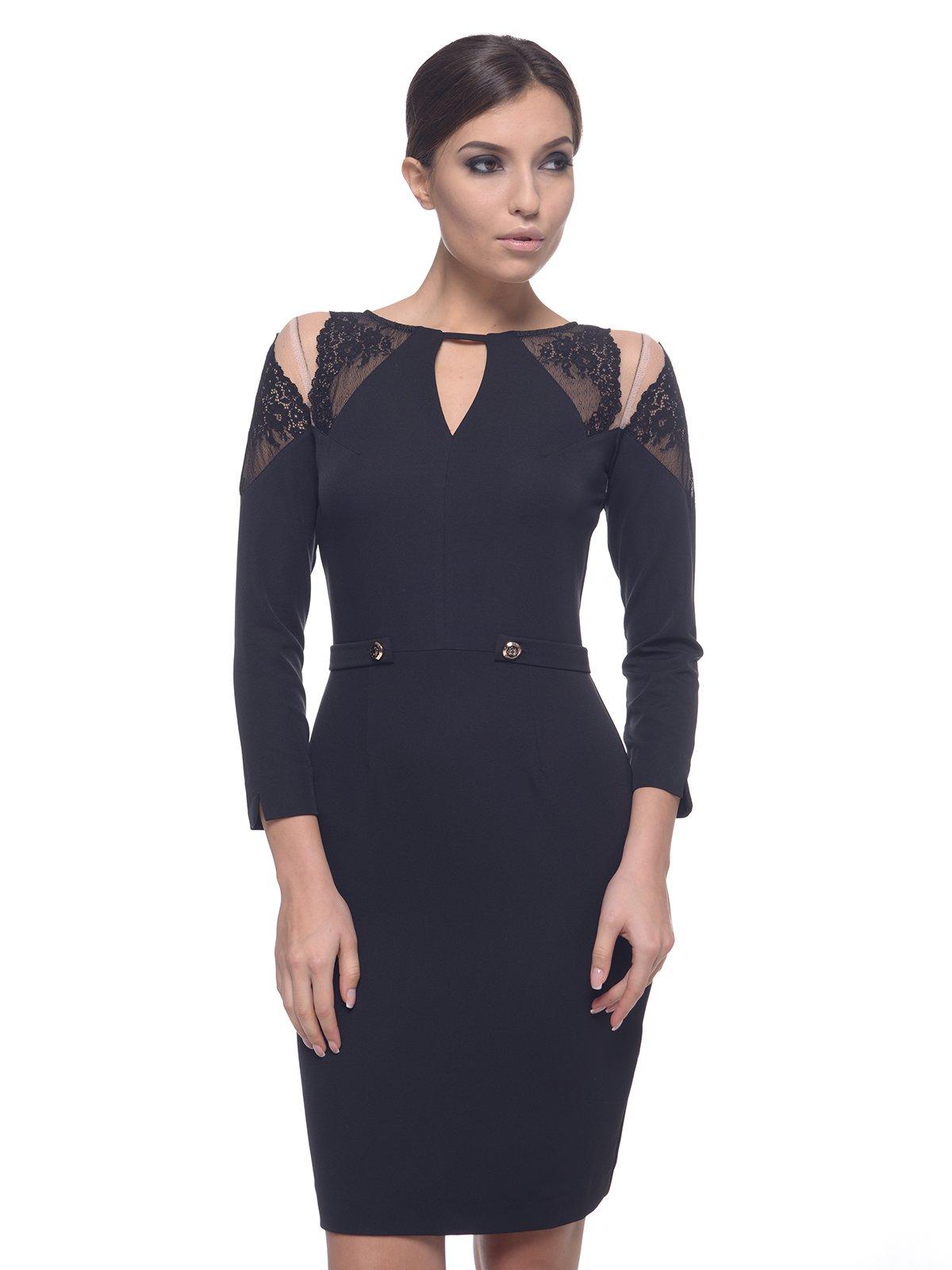 Платье черное | 1882653