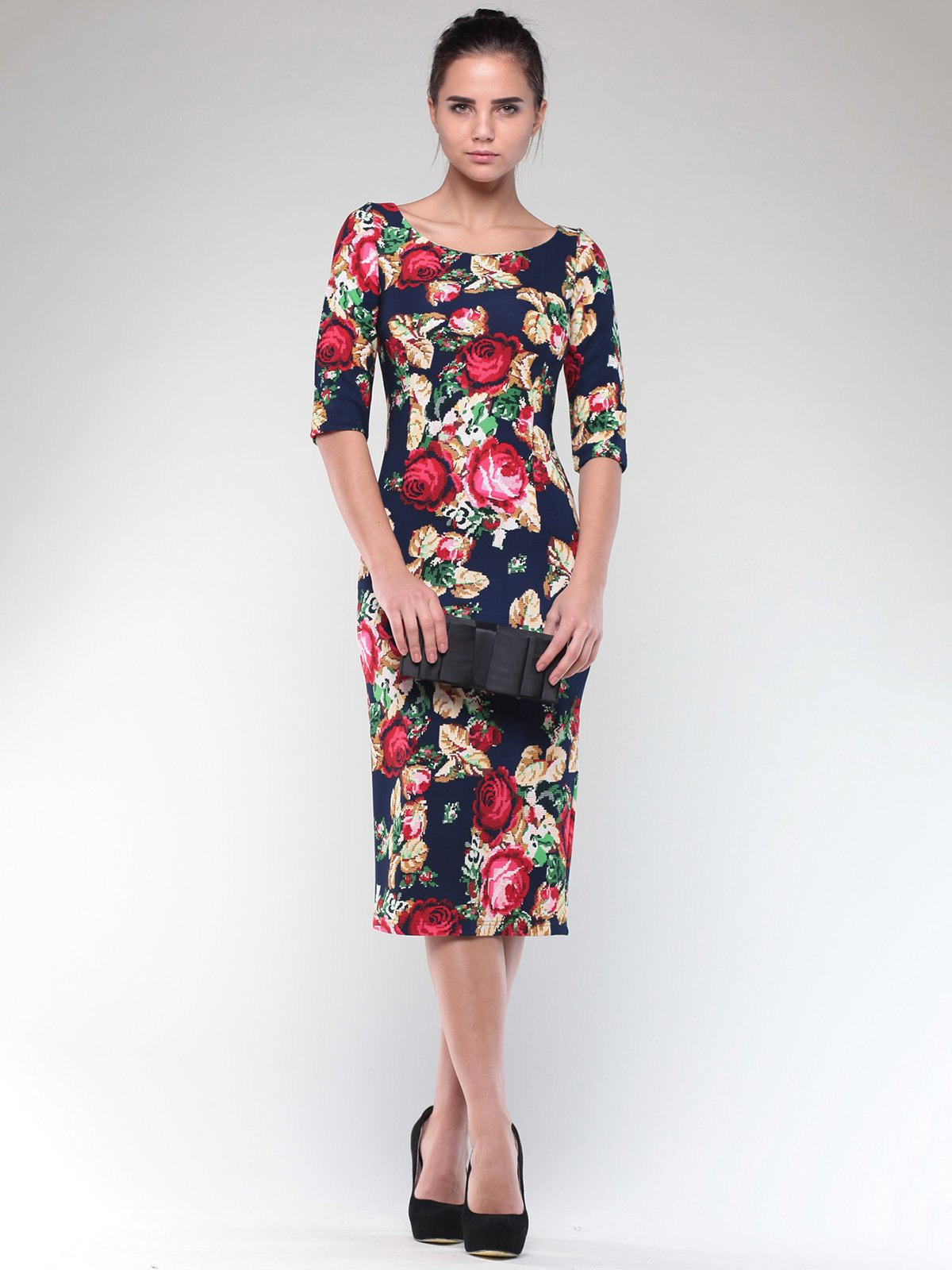 Сукня в квітковий принт   2004377