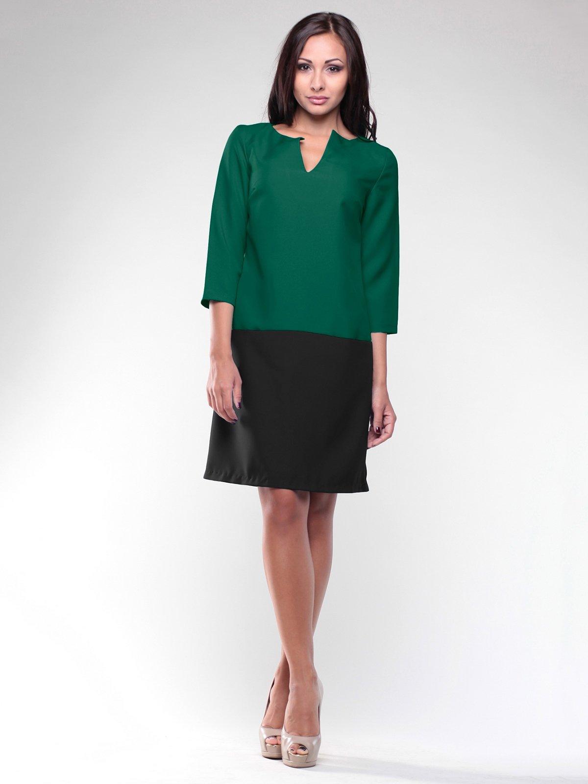 Сукня зелено-чорна   2005480