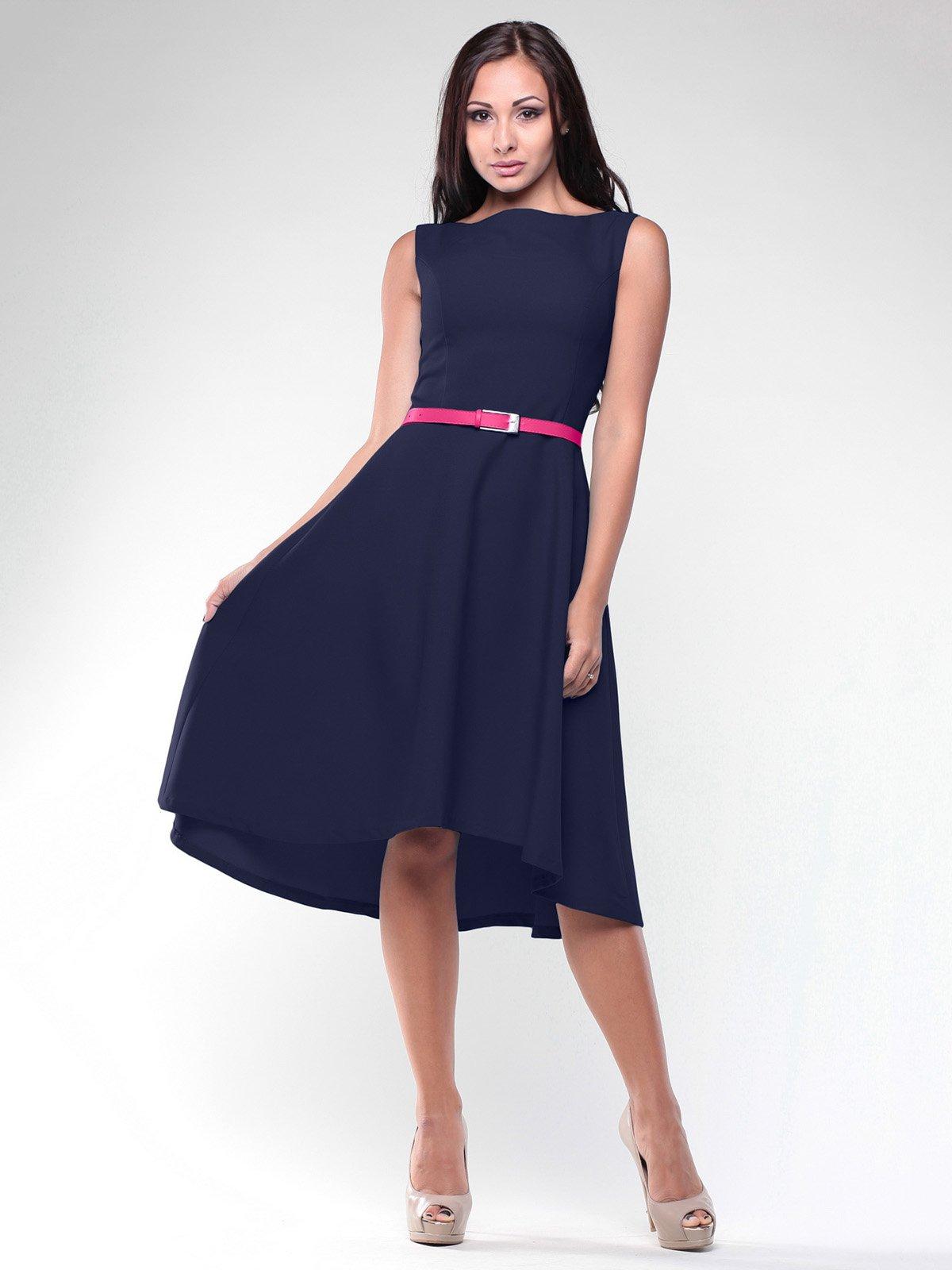 Платье темно-синее   2005575