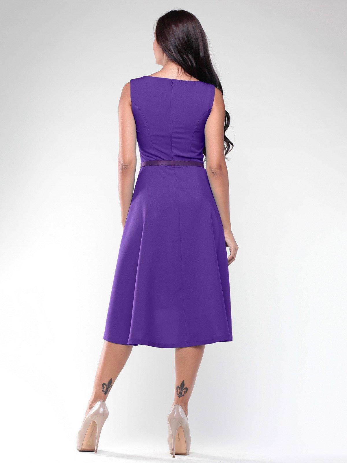 Платье фиалкового цвета | 2005576 | фото 2