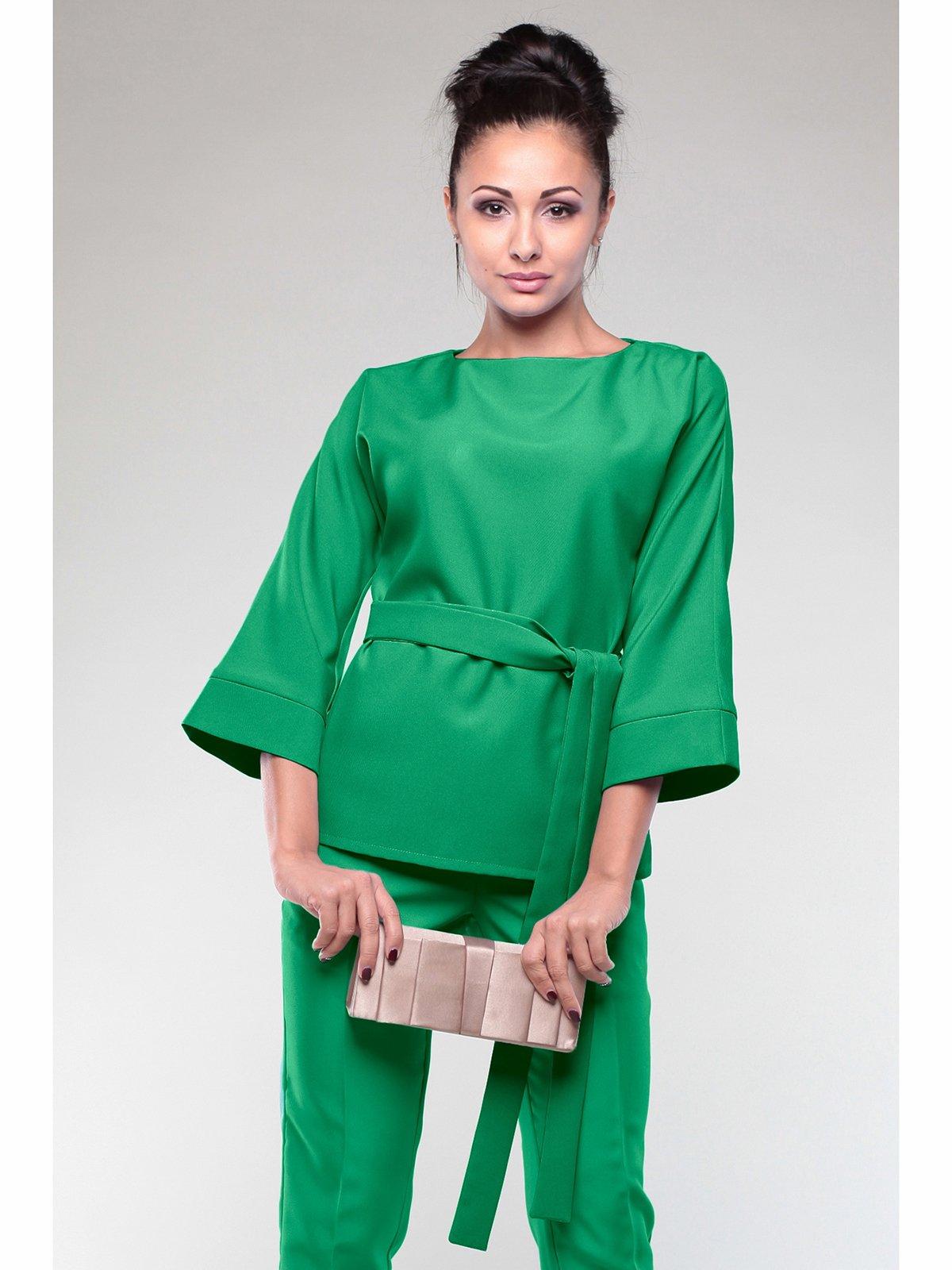 Блуза изумрудного цвета | 2005594