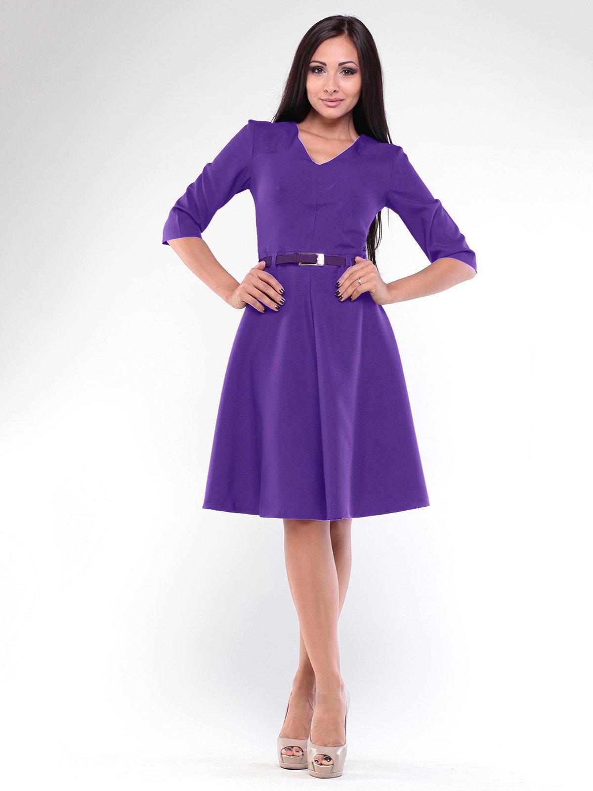 Сукня фіалкового кольору | 2004408