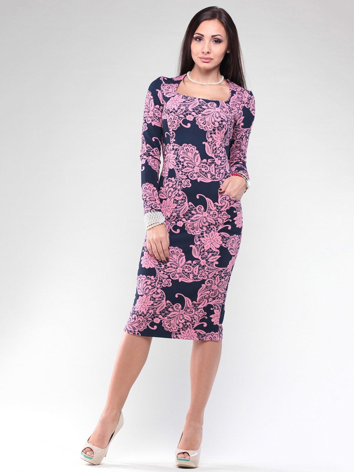 Платье в принт | 2029265