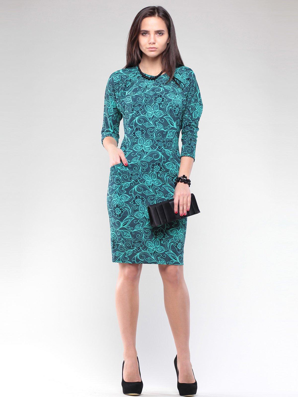 Платье в принт | 2029306
