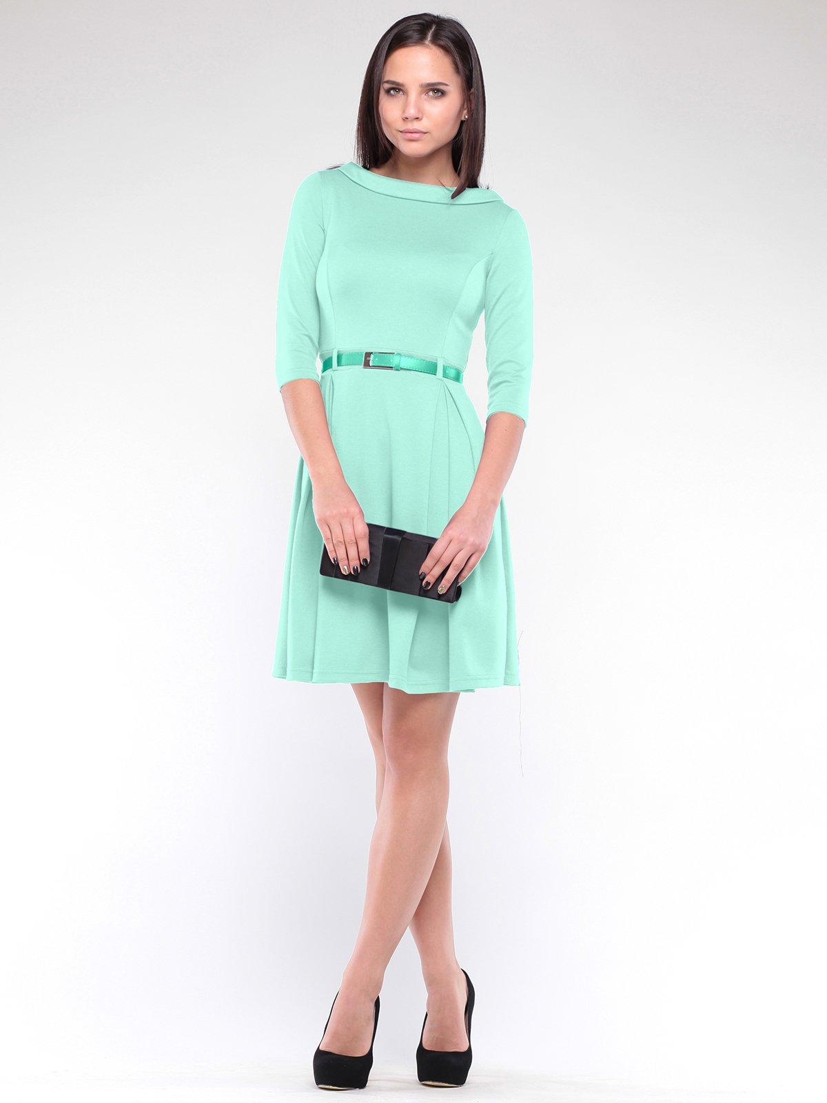 Сукня світло-ментолового кольору   2026235