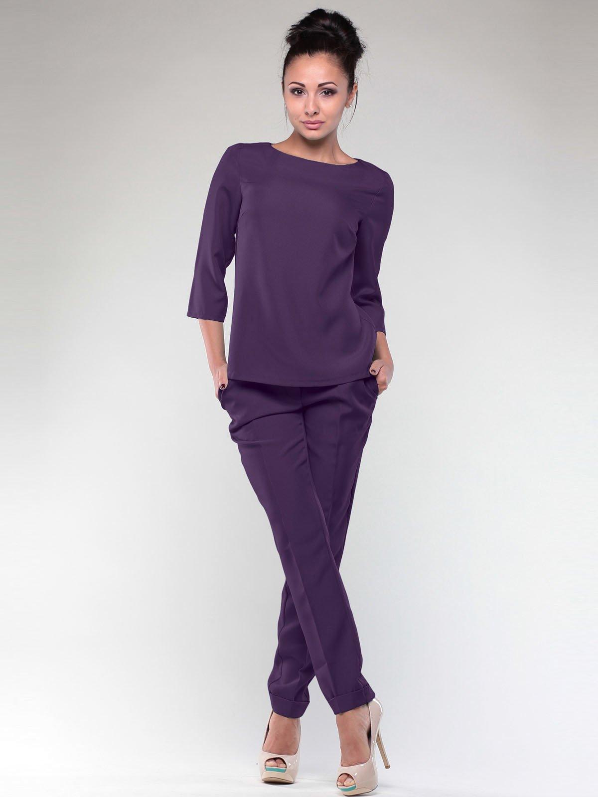Костюм: блуза и брюки | 2029277