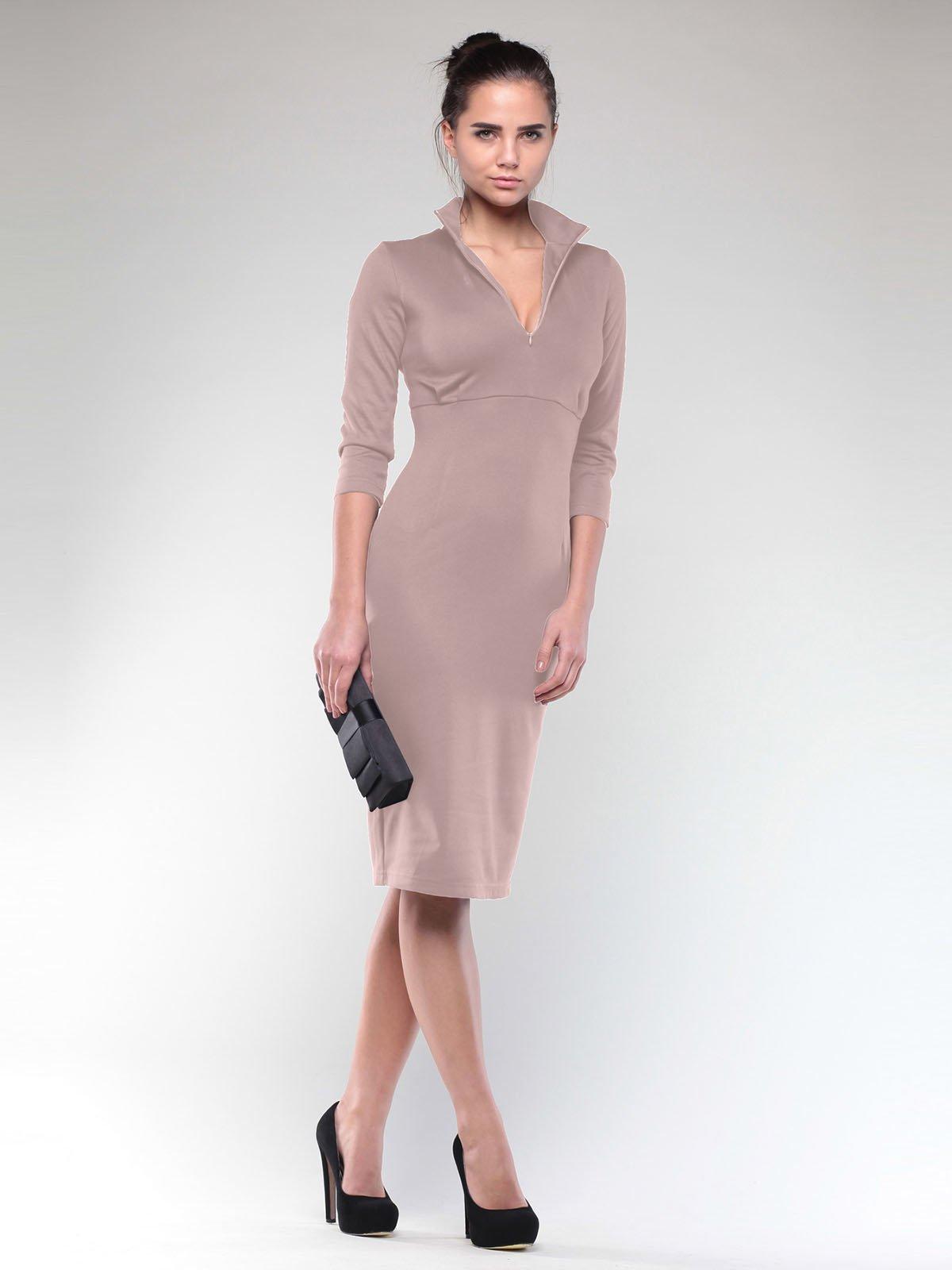 Платье бежевое   2029303