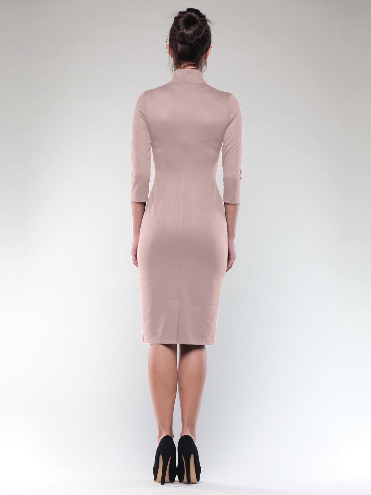 Платье бежевое   2029303   фото 2