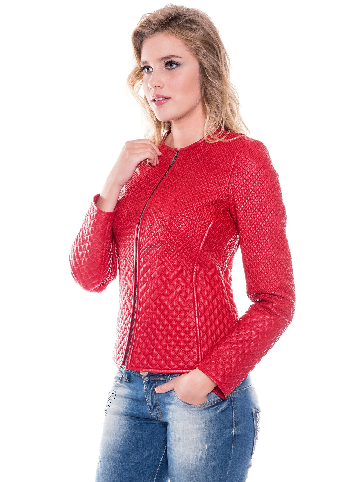 Куртка красная   2033764   фото 4
