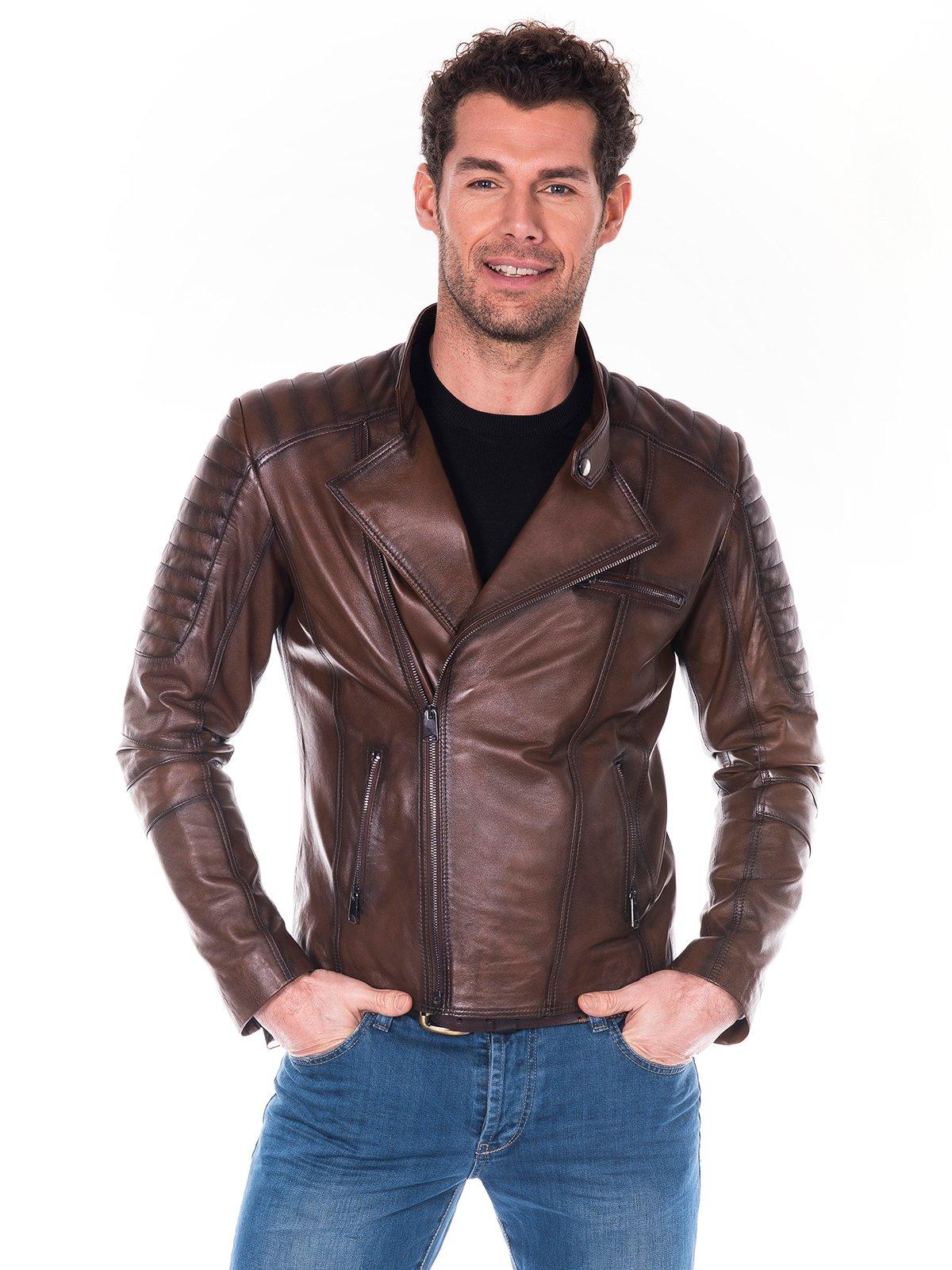 Куртка коричневая | 2033821 | фото 2