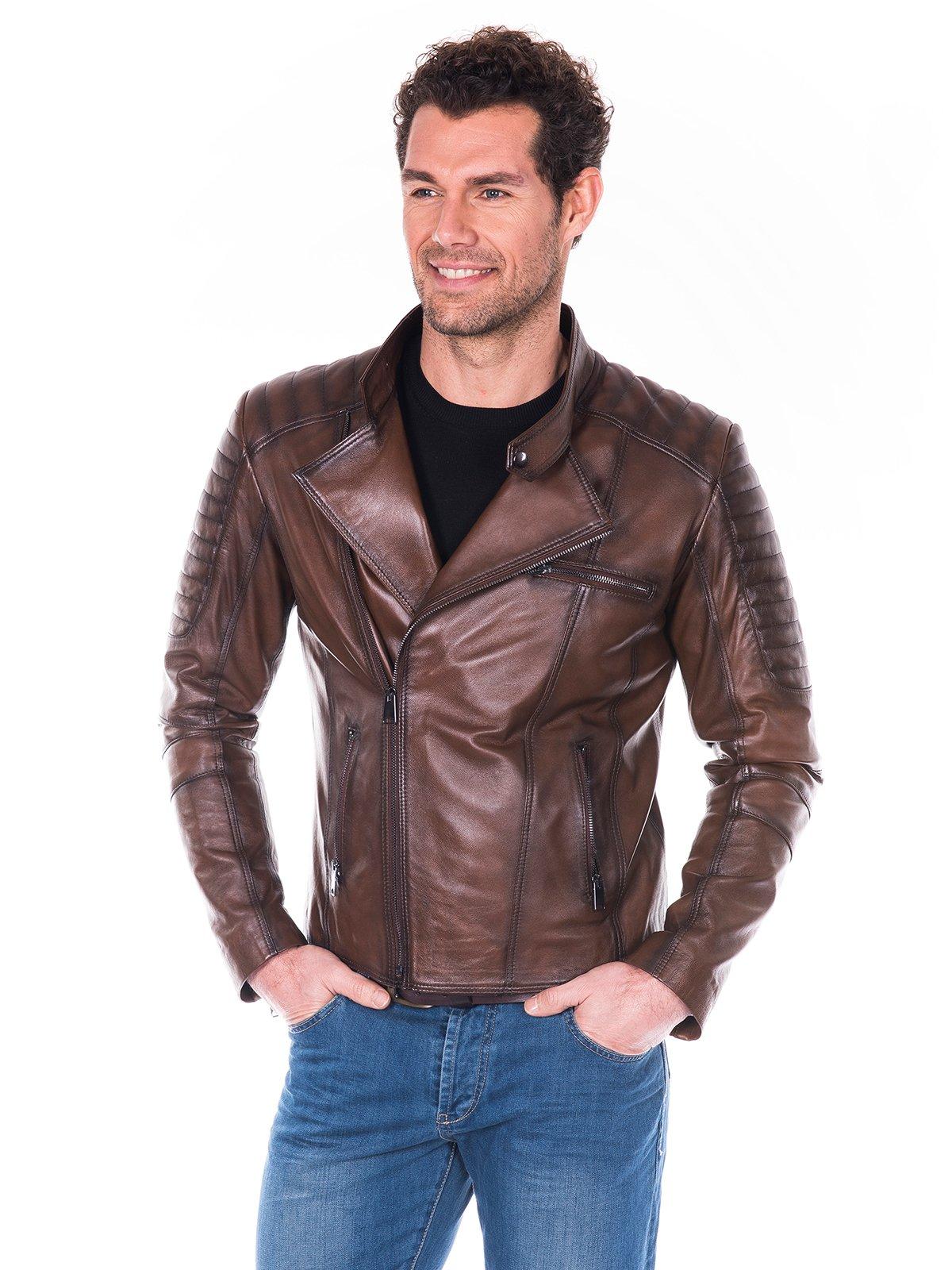 Куртка коричневая | 2033821 | фото 3