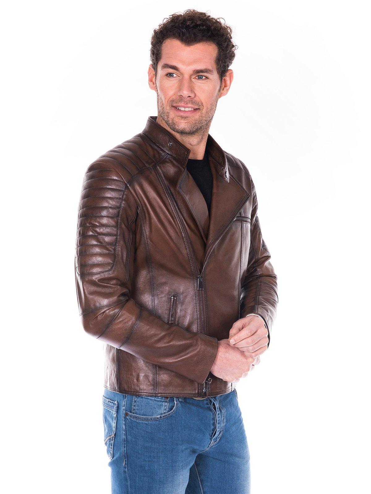 Куртка коричневая | 2033821 | фото 4