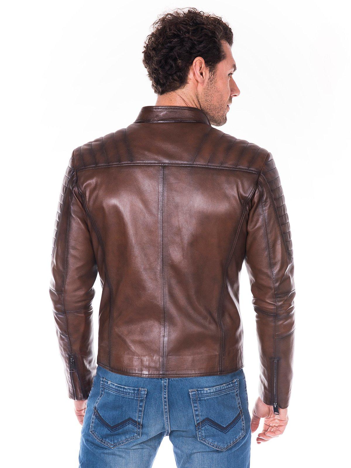 Куртка коричневая | 2033821 | фото 5