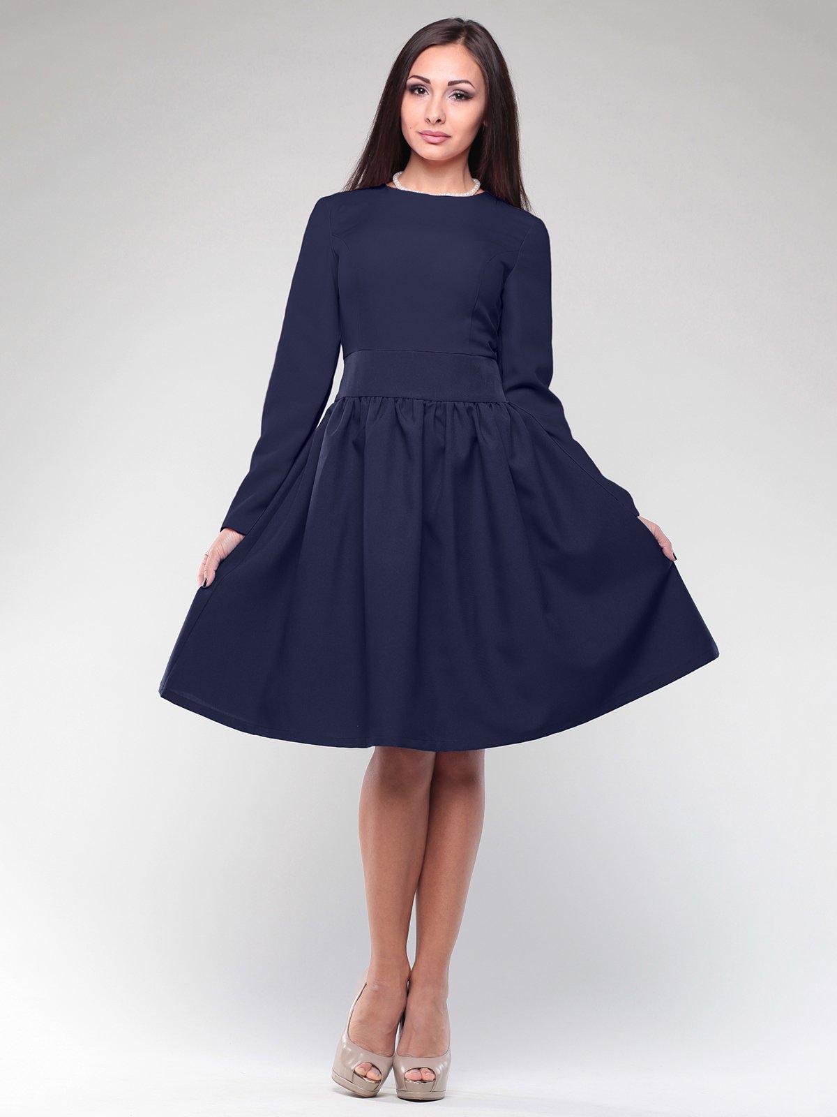 Платье темно-синее   2046292