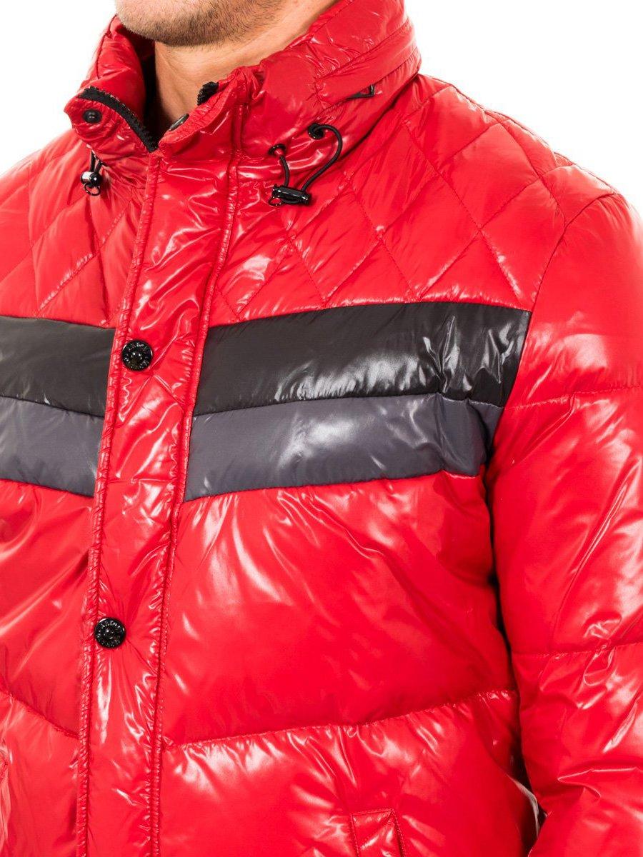 Куртка красная с контрастными вставками | 2048375 | фото 2