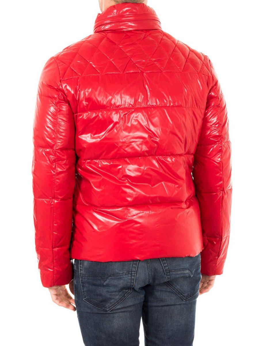Куртка красная с контрастными вставками | 2048375 | фото 3