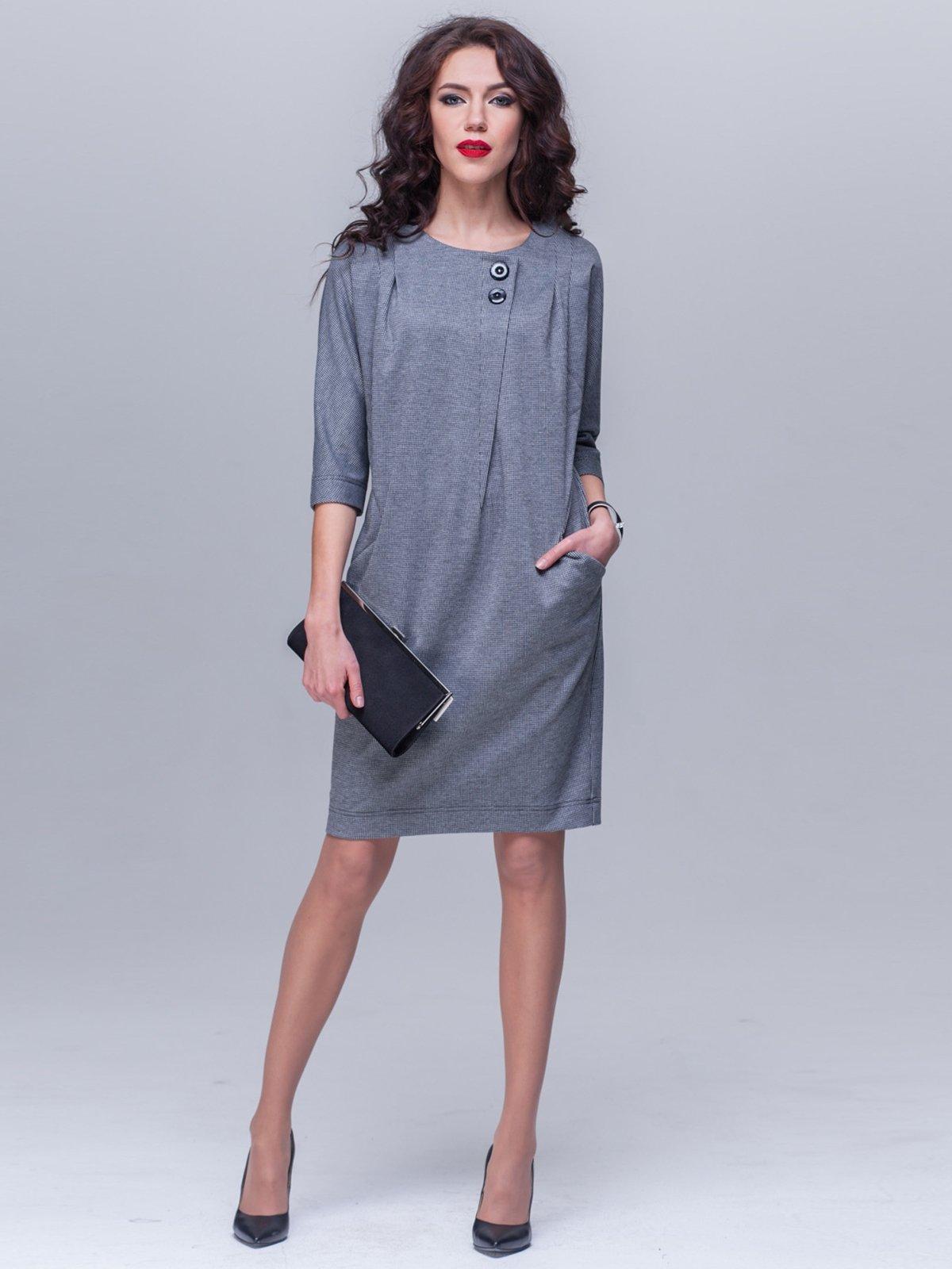 Платье серое | 2047412
