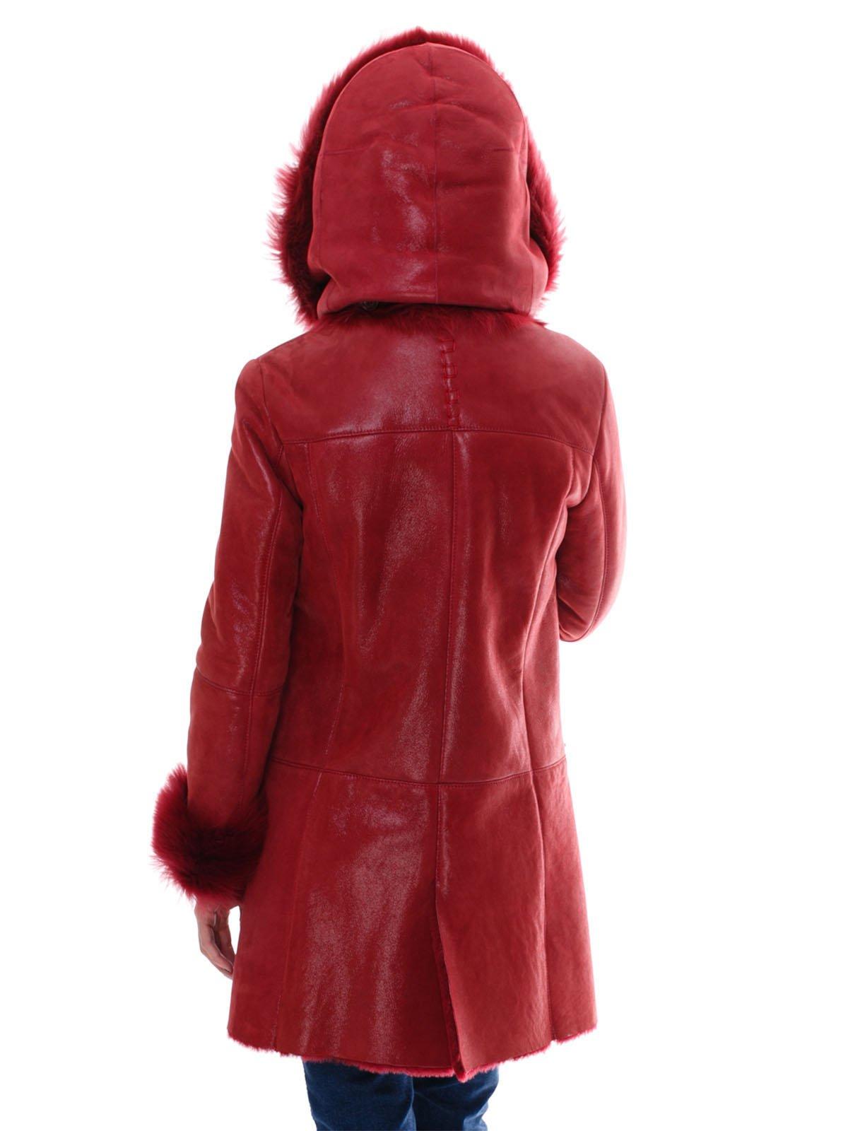 Дубленка красная | 2047136 | фото 4