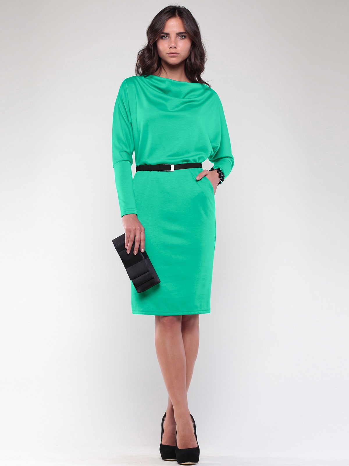 Платье зеленое | 2056869