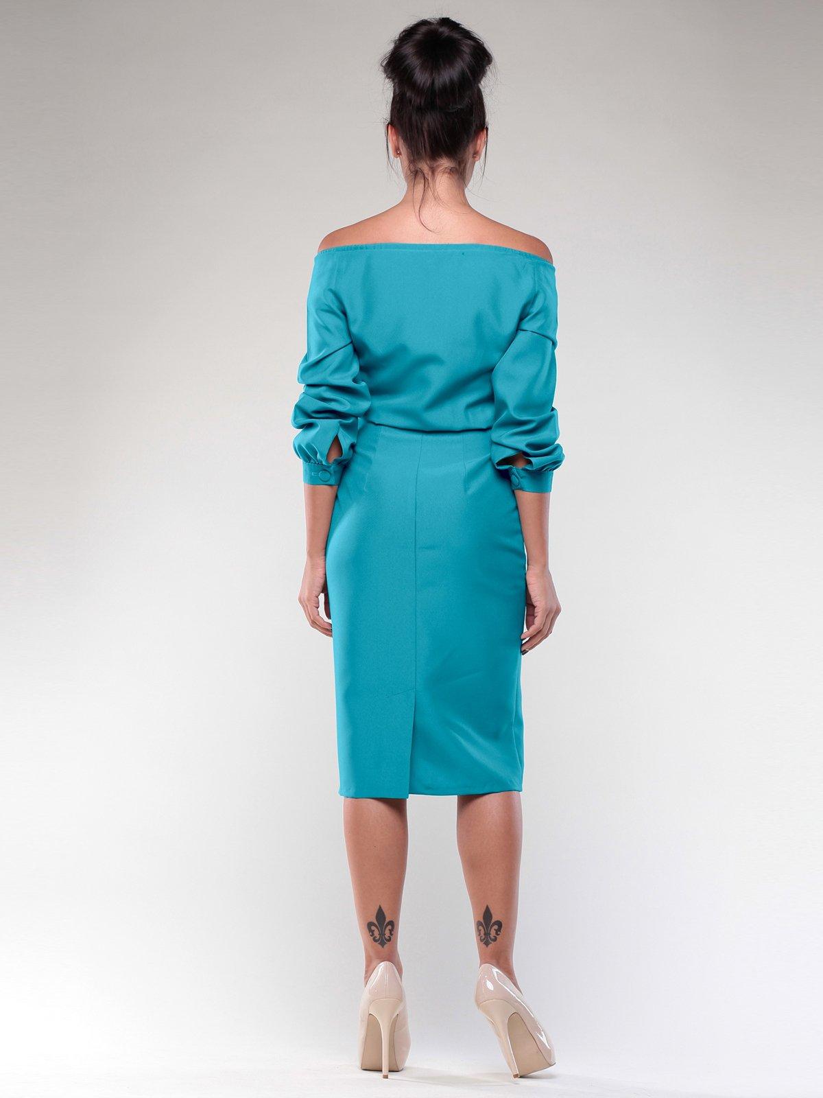 Платье бирюзовая | 2056923 | фото 2