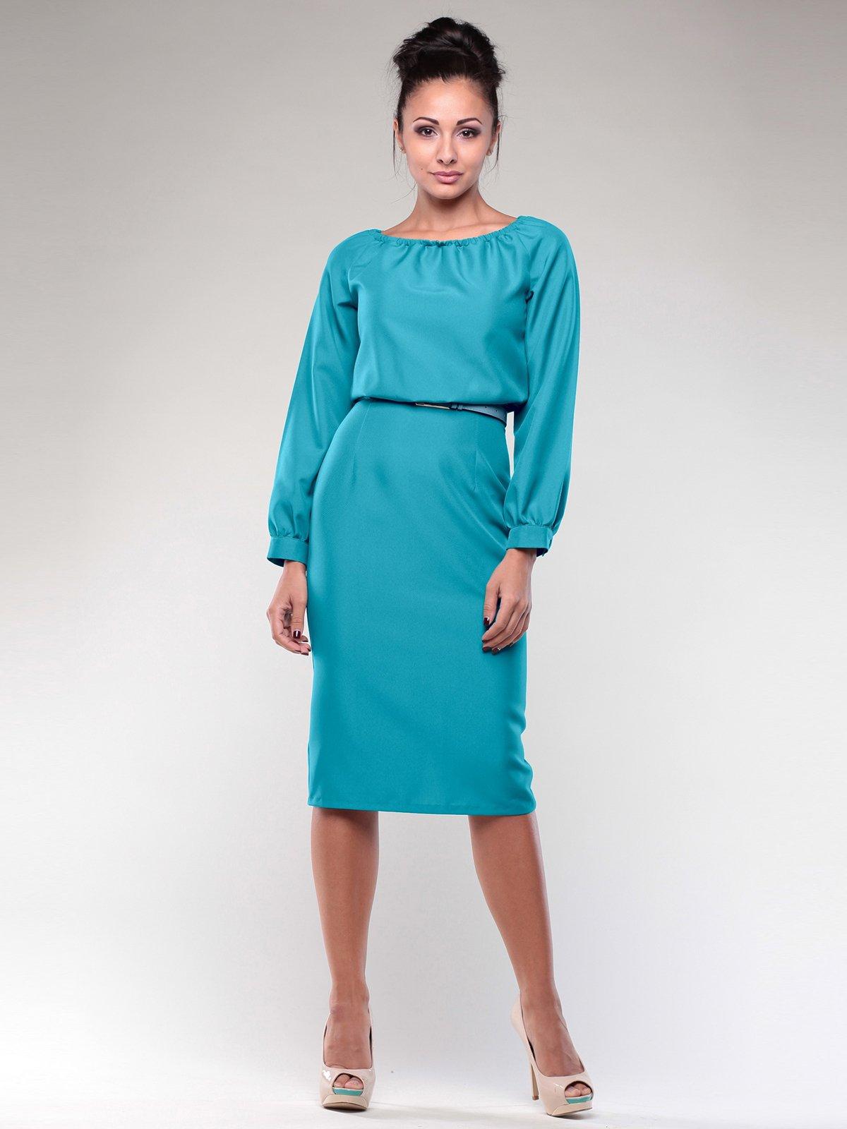 Платье бирюзовая | 2056923 | фото 3