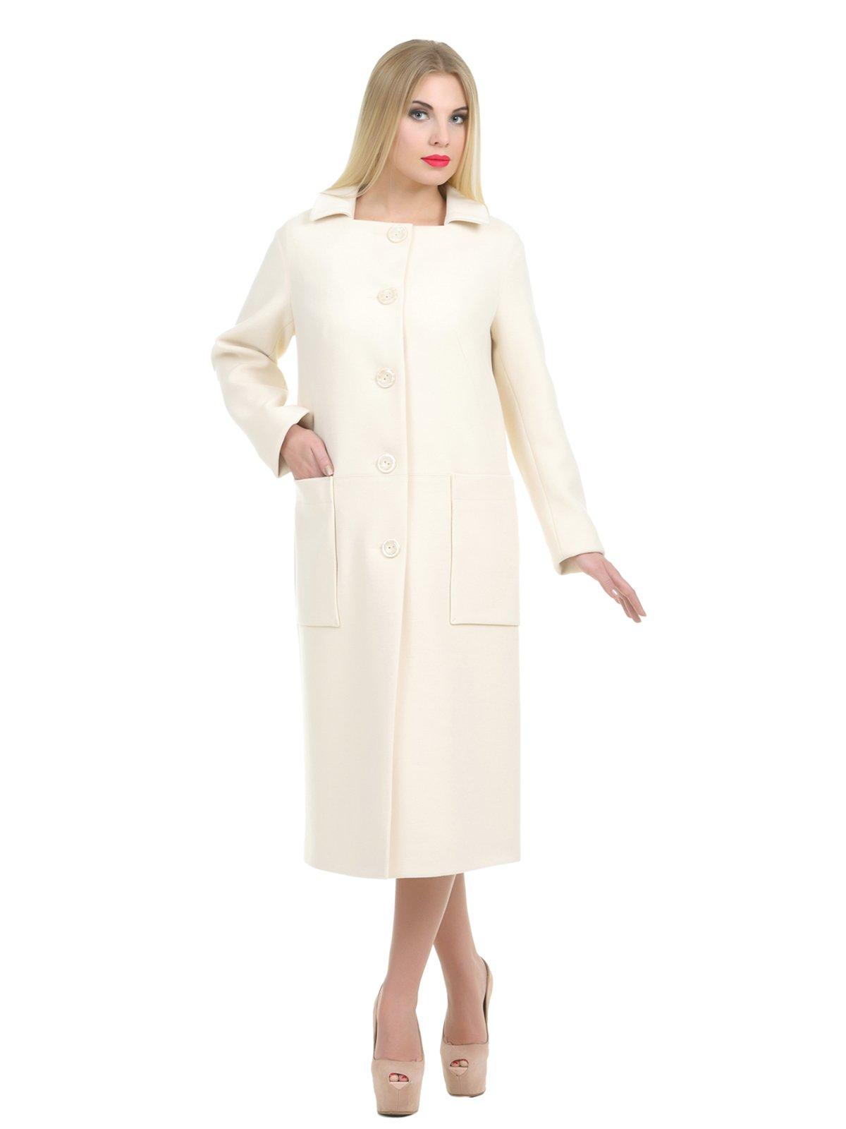 Пальто молочного цвета | 1907221