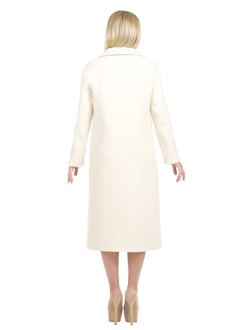Пальто молочного цвета | 1907221 | фото 3