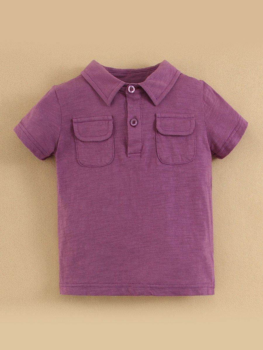 Футболка-поло фіолетова   2063851
