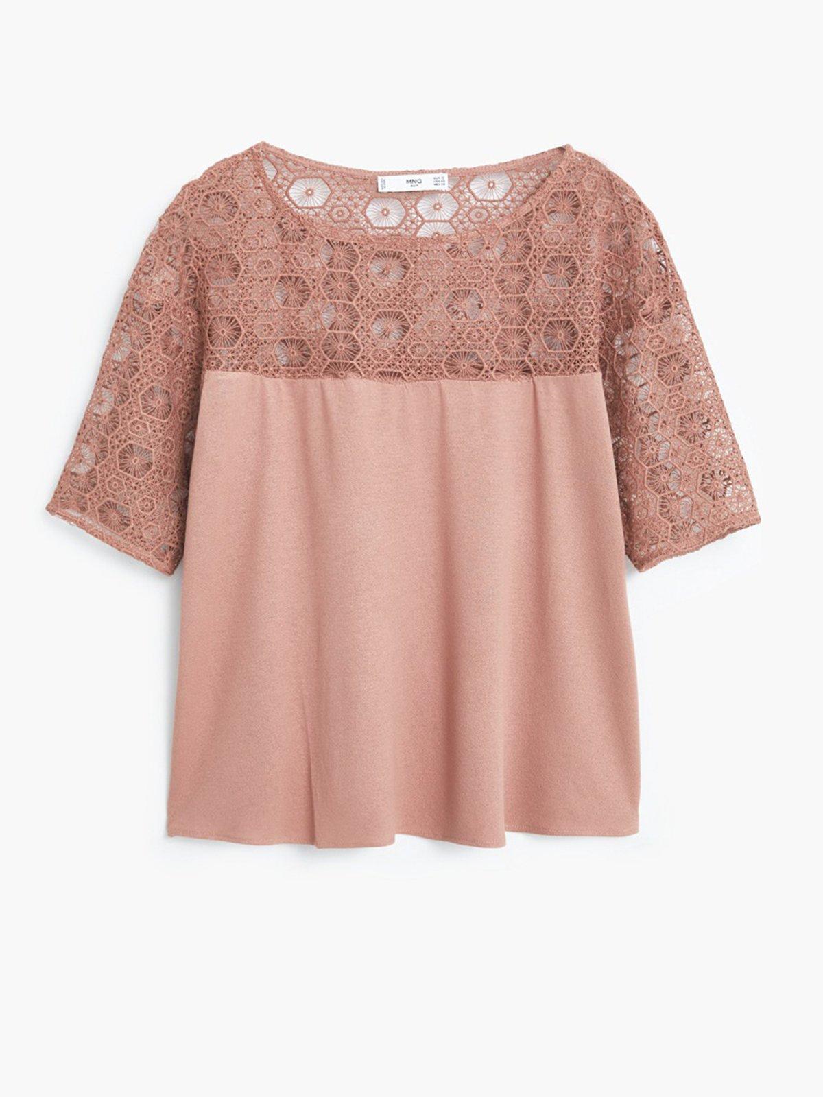 Блуза розовая | 1944804