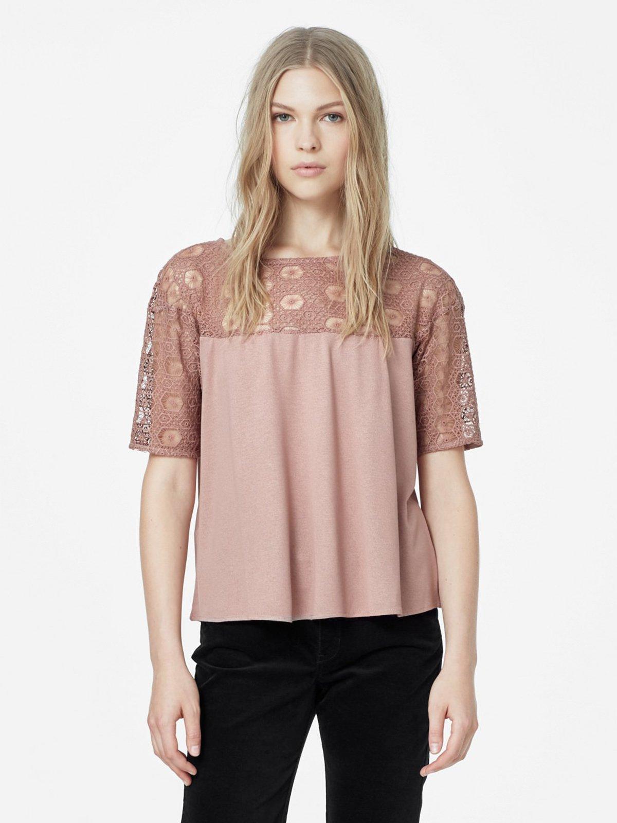 Блуза розовая | 1944804 | фото 2