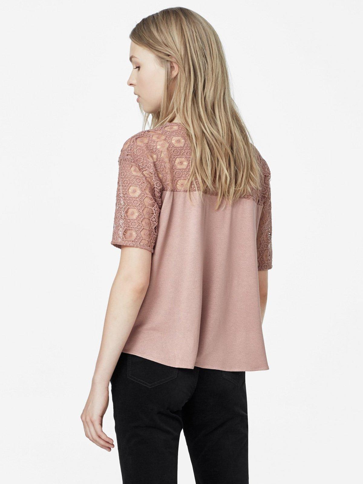 Блуза розовая | 1944804 | фото 3