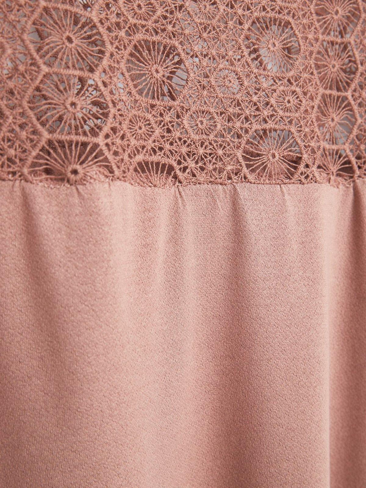 Блуза розовая | 1944804 | фото 5