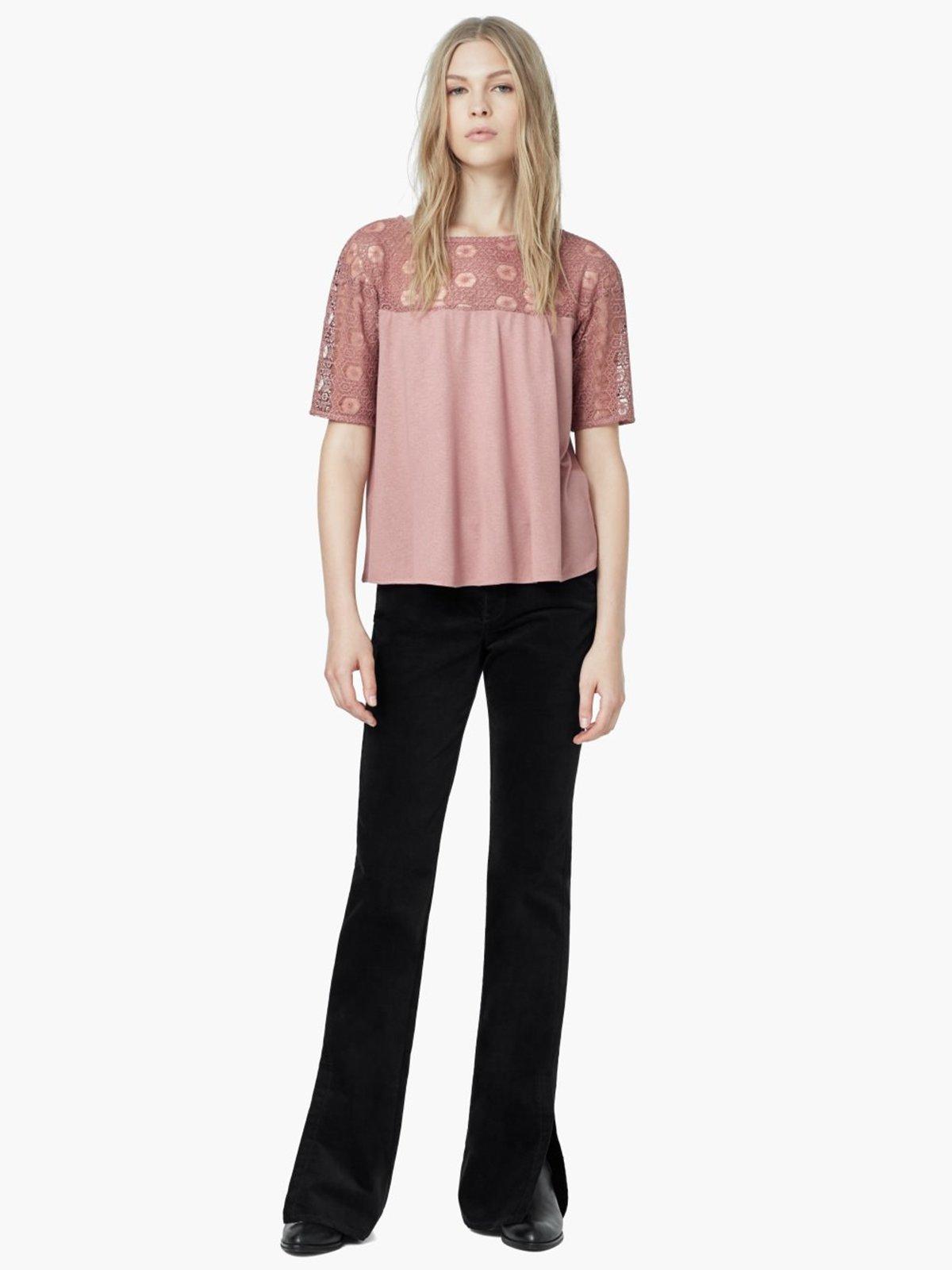 Блуза розовая | 1944804 | фото 6