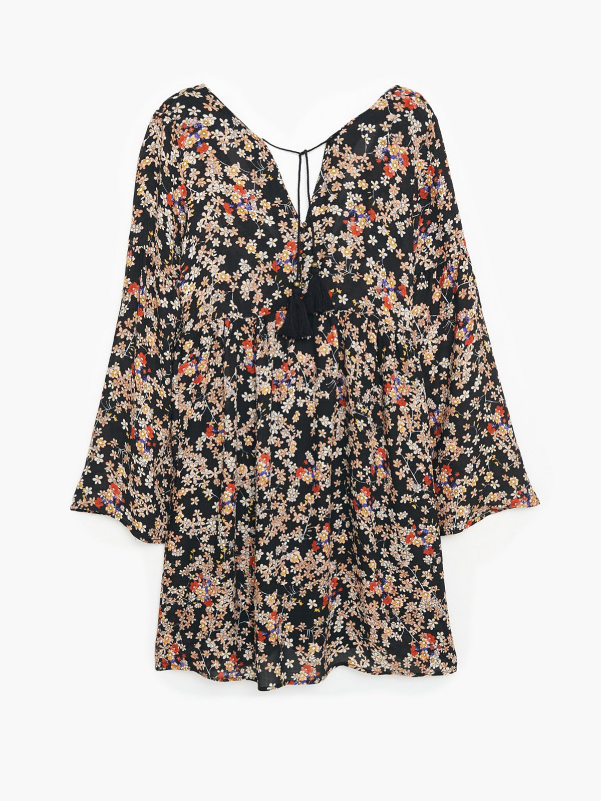 Платье цветочной расцветки | 1944879