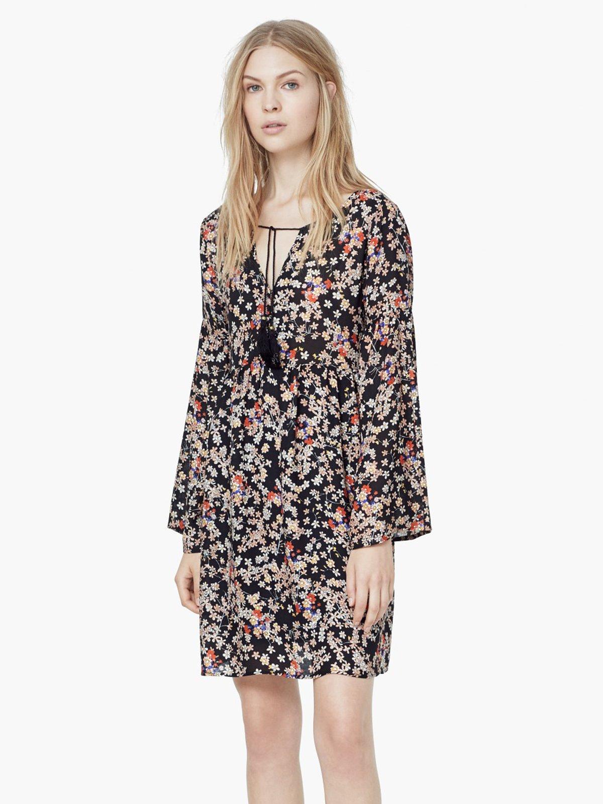 Платье цветочной расцветки | 1944879 | фото 2