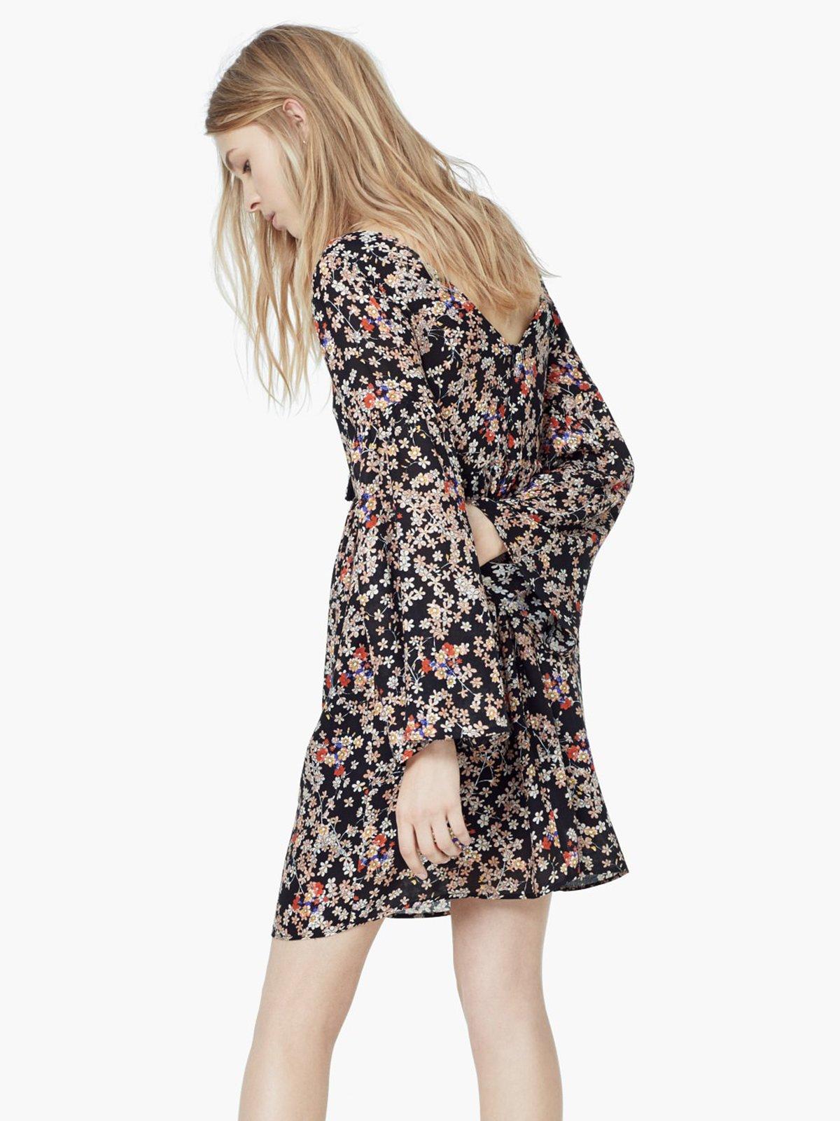 Платье цветочной расцветки | 1944879 | фото 3