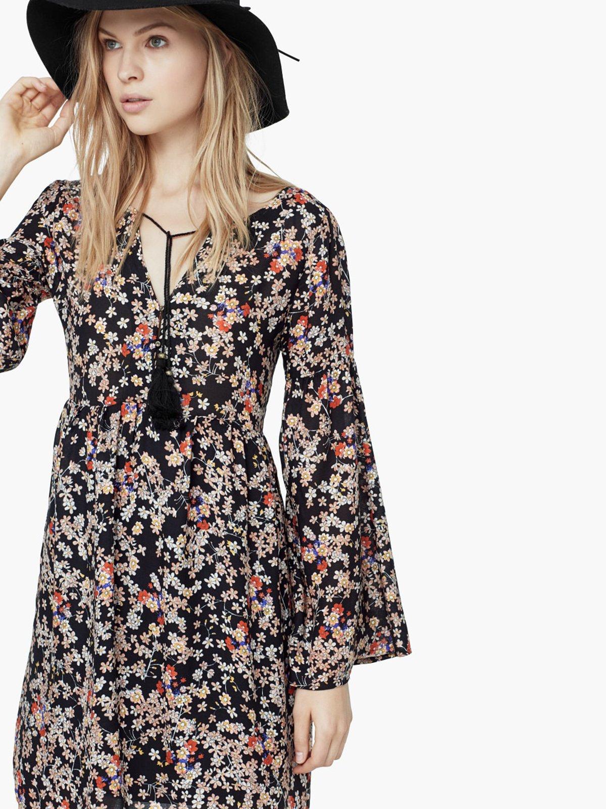 Платье цветочной расцветки | 1944879 | фото 4