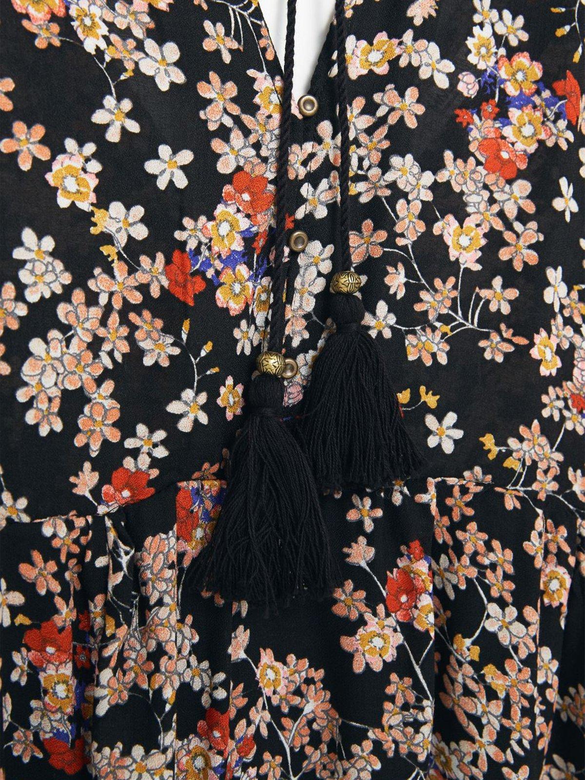 Платье цветочной расцветки | 1944879 | фото 5