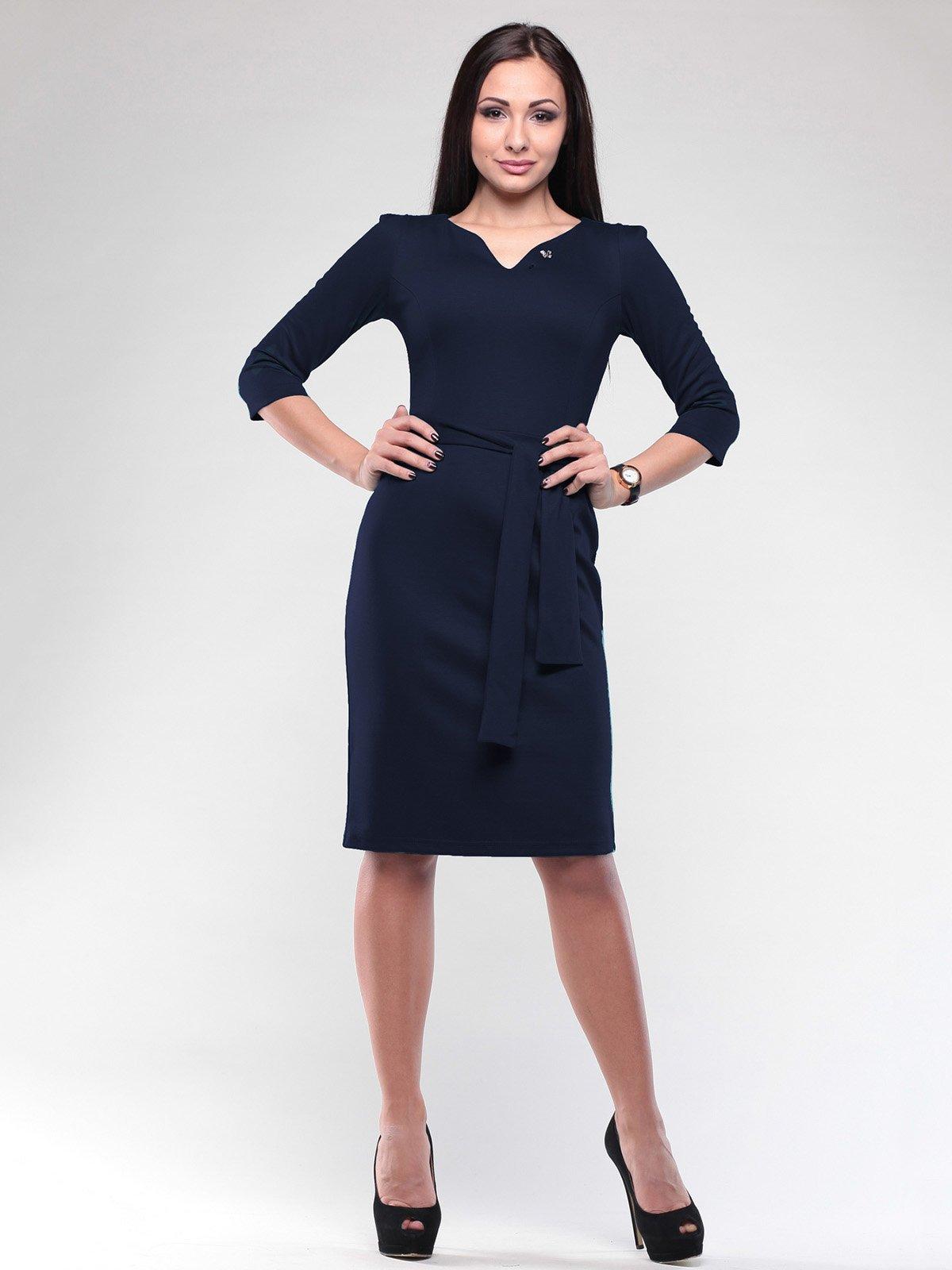 Платье темно-синее | 2067883