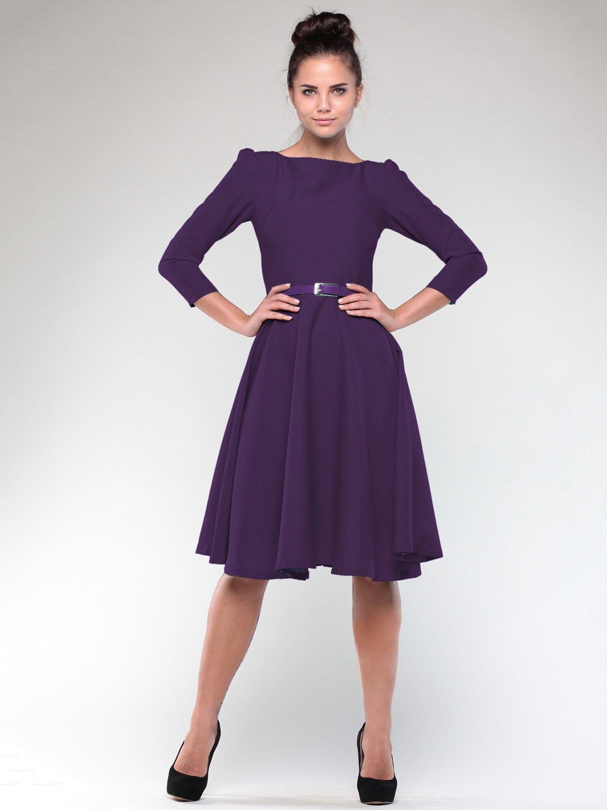 Сукня темно-фіолетова | 2076010
